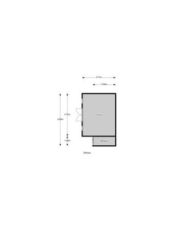 Floorplan - Snelliusstraat 13, 6604 BZ Wijchen