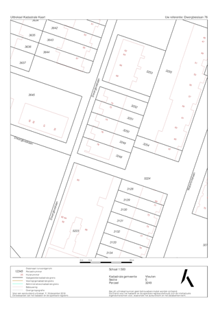 Floorplan - Dwergbieslaan 76, 3452 AK Vleuten