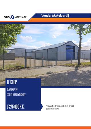 Brochure preview - De Wieken 56, 1777 HT HIPPOLYTUSHOEF (1)