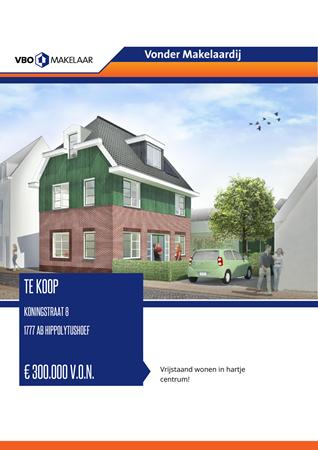 Brochure preview - Koningstraat 8, 1777 AB HIPPOLYTUSHOEF (1)