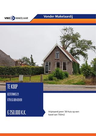 Brochure preview - Gesterweg 21, 1779 EG DEN OEVER (1)
