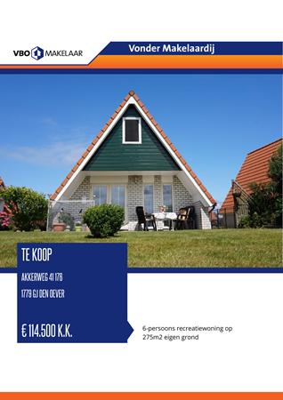 Brochure preview - Akkerweg 41-176, 1779 GJ DEN OEVER (1)
