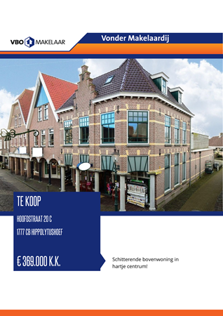 Brochure preview - Hoofdstraat 20-c, 1777 CB HIPPOLYTUSHOEF (1)