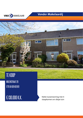 Brochure preview - Molenstraat 20, 1779 XH DEN OEVER (2)