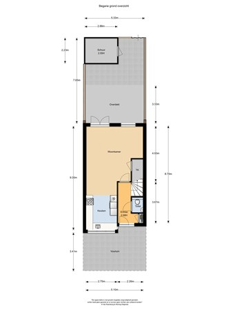 Floorplan - Ananta Toerstraat 35, 6515 ZH Nijmegen