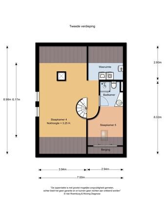 Floorplan - d'Almarasweg 151, 6525 DV Nijmegen
