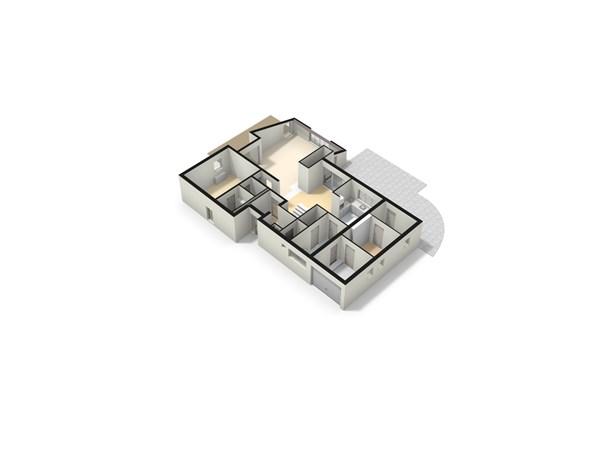 Floorplan - Rijksweg 166, 6586 AB Plasmolen
