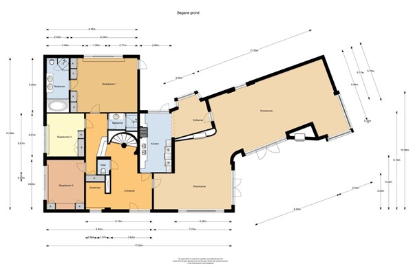 Floorplan - Josuëlaan 10, 6564 BE Heilig Landstichting