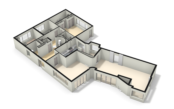 Floorplan - Josuëlaan 10, 6564 BE Heilig Landstichting