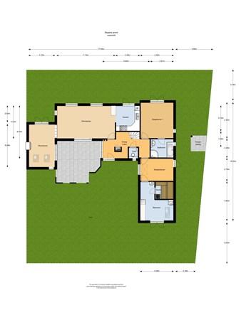 Floorplan - De Bongerd 28, 6584 DH Molenhoek
