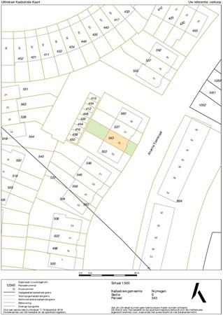 Floorplan - Meidoornhof 20, 6584 BS Molenhoek