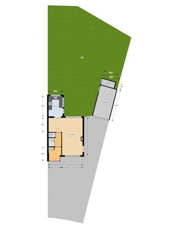 Floorplan - Van Heutszpark 43, 3131 NH Vlaardingen