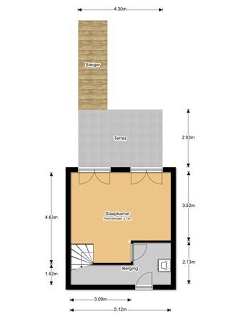 Floorplan - Werf De Hoop 6, 3134 HC Vlaardingen