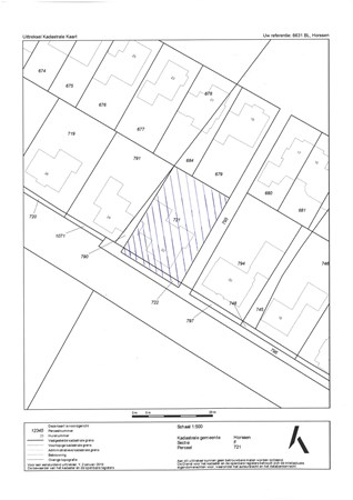 Floorplan - Bikkeldam 22, 6631 BL Horssen