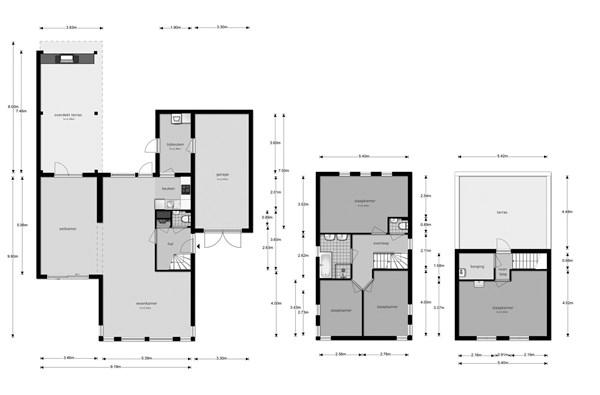 Floorplan - Parijsstraat 13, 7559 KN Hengelo
