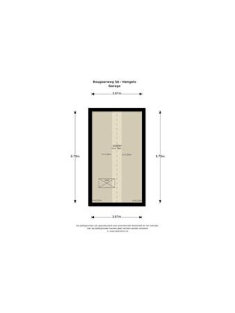 Floorplan - Rougoorweg 50, 7554 RZ Hengelo