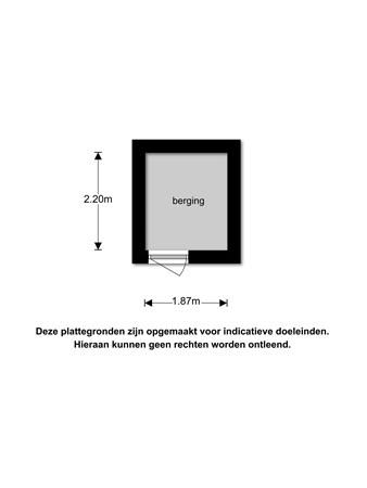 Floorplan - Laan van Nieuw Oosteinde 412, 2274 GJ Voorburg