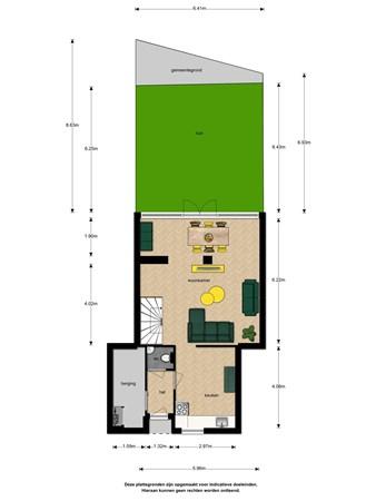 Floorplan - Elzendreef 216, 2272 EE Voorburg