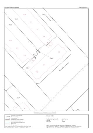 Floorplan - Westenburgstraat 4, 2275 XS Voorburg