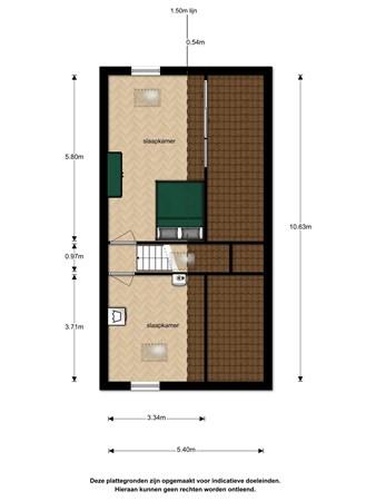Floorplan - Ruisvoornvijver 11, 2492 MN Den Haag