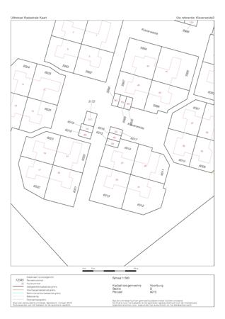 Floorplan - Klaverweide 3G, 2272 VV Voorburg
