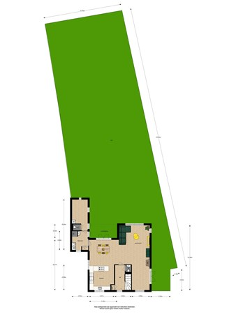 Floorplan - Doctor van Noortstraat 93, 2266 GT Leidschendam