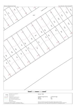 Floorplan - Schenkkade 276, 2595 AX Den Haag