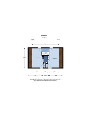 Floorplan - Gouwestraat 1, 2407 BB Alphen aan den Rijn