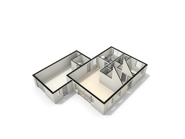 Floorplan - De Groendijck 4, 3465 JB Driebruggen