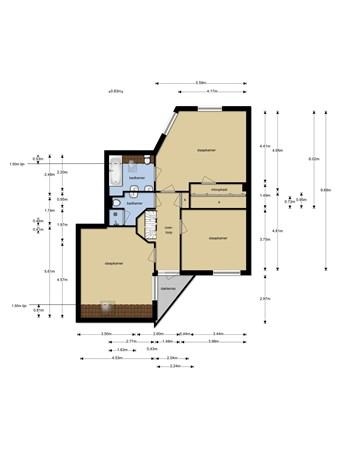 Floorplan - Hofstede 1, 2411 WH Bodegraven