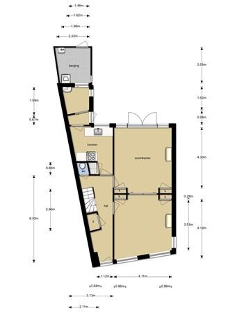 Floorplan - Molenstraat 59, 2471 AA Zwammerdam