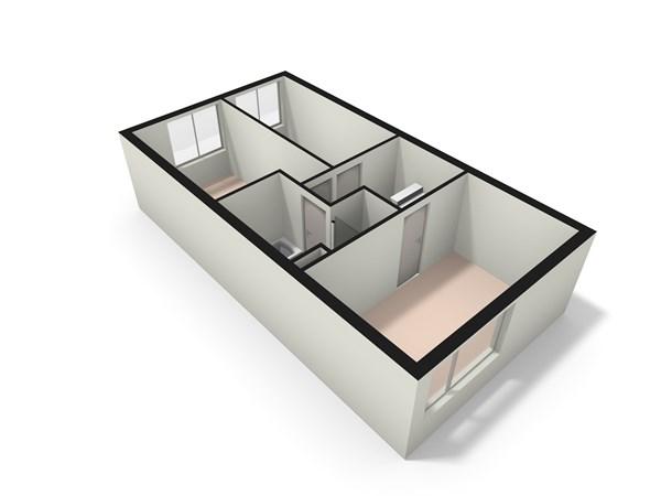Floorplan - Zwaan 45, 2381 KV Zoeterwoude