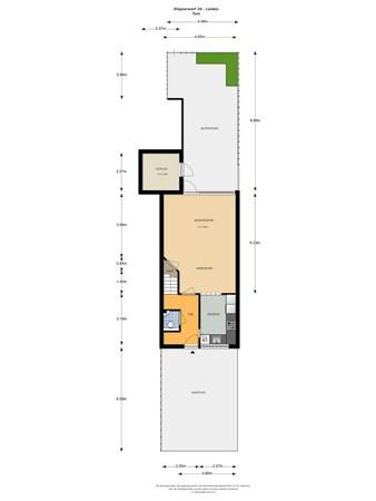 Floorplan - Klipperwerf 26, 2317 DZ Leiden
