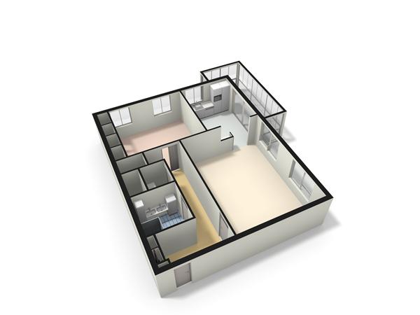 Floorplan - Poldertocht 52, 2353 VG Leiderdorp