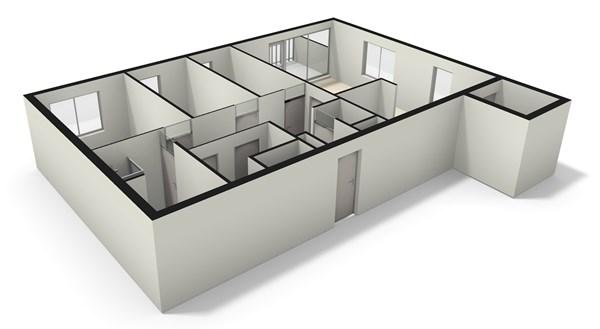 Floorplan - Westerschans 27, 2352 DK Leiderdorp