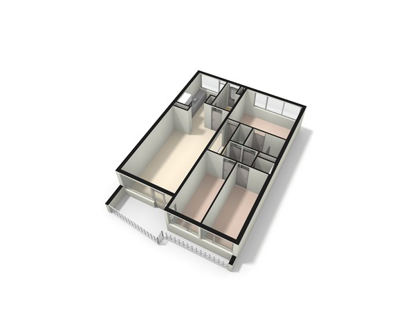 Floorplan - Bosdreef 15, 2352 BC Leiderdorp