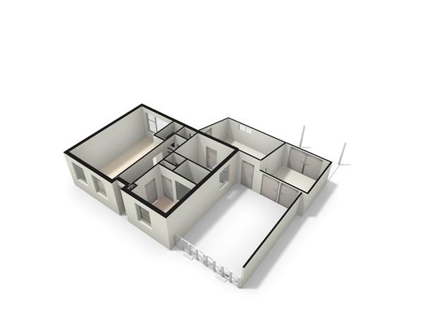 Floorplan - Hoofdstraat 187, 2351 AG Leiderdorp