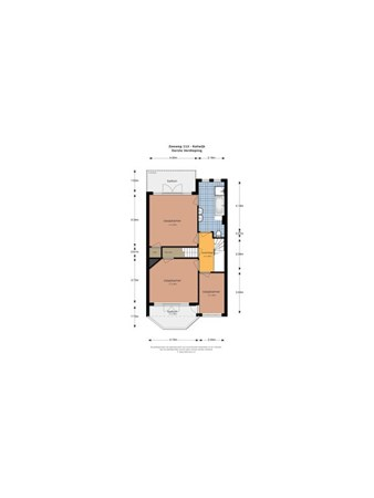 Floorplan - Zeeweg 113, 2224 CD Katwijk Zh