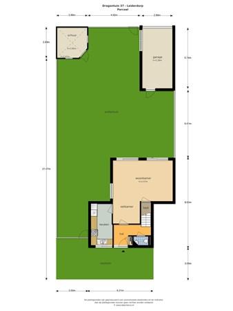 Floorplan - Dragontuin 37, 2353 PP Leiderdorp