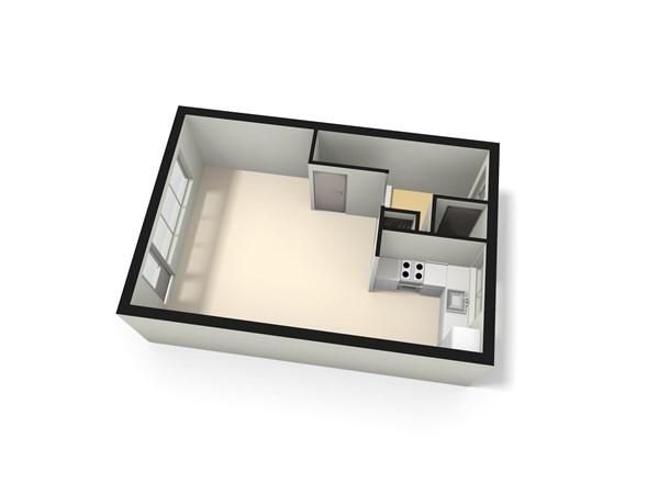 Floorplan - Jacoba van Beierenlaan 172, 2353 DW Leiderdorp