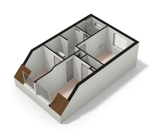 Floorplan - Trompstraat 50, 2315 TB Leiden