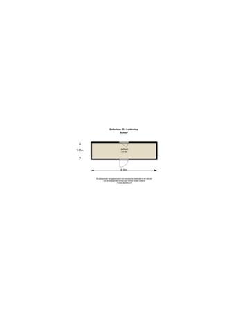 Floorplan - Gallaslaan 23, 2353 CM Leiderdorp