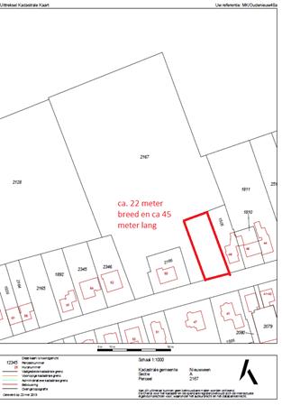 Floorplan - Oude Nieuwveenseweg 48a, 2441 CW Nieuwveen