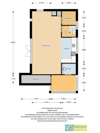 Floorplan - Park Zomerlust 5, 2435 NG Zevenhoven