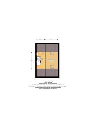 Floorplan - Fleurstraat 4, 2421 JC Nieuwkoop