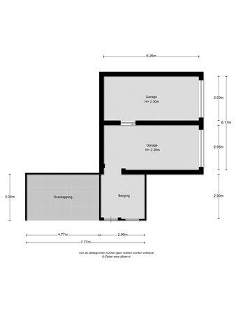 Floorplan - Rietbergstraat 36, 7201 GJ Zutphen