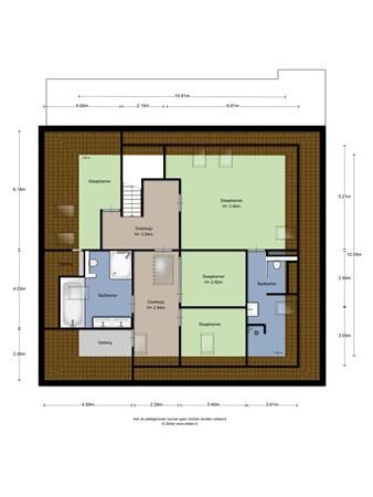 Floorplan - IJsselkade 16B, 7201 HC Zutphen
