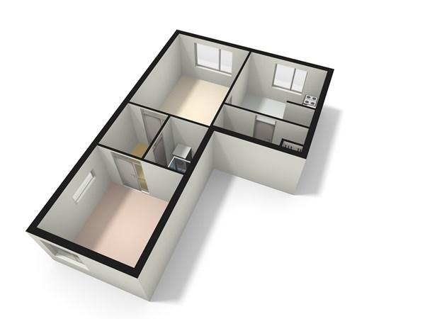 Floorplan - Salviahof 32, 2203 EC Noordwijk