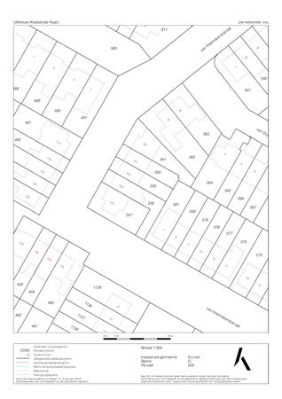 Floorplan - Van Heemskerckstraat 103, 6921 DN Duiven