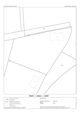 Floorplan - De Pas 17, 6681 KC Bemmel